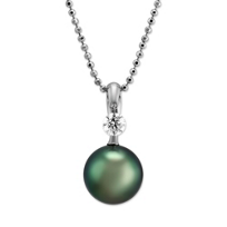 Tara_18K_White_Gold_Tahitian_Cultured_Pearl_and_Diamond_Pendant,_10x11mm