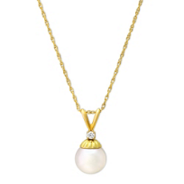 14K_Yellow_Gold_White_Cultured_Pearl_Pendant,_7mm