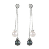 18K_Freshwater_Cultured_Pearl_and_Diamond_Earrings
