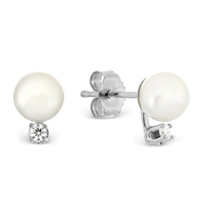 14K_White_Gold_5mm_White_Cultured_Pearl_and_Diamond_Earrings