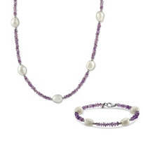 Sterling_Silver_Freshwater_Cultured_Pearl_and_Amethyst_Necklace_and_Bracelet_Set