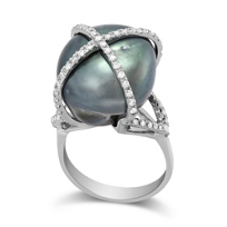 18K_White_Gold_Tahitian_South_Sea_Cultured_Pearl_and_Diamond_X_Ring
