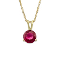 14K_Yellow_Gold_Round_Ruby_Pendant,_6mm