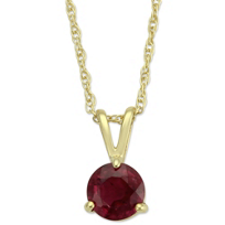 14K_Yellow_Gold_Round_Ruby_Pendant,_5mm