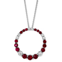 14K_White_Gold_Ruby_and_Diamond_Circle_Pendant