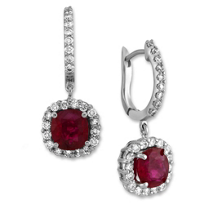 18K_White_Gold_Cushion_Ruby_and_Round_Diamond_Drop_Earrings