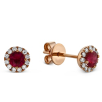 14K_Rose_Gold_Ruby_and_Round_Diamond_Halo_Earrings