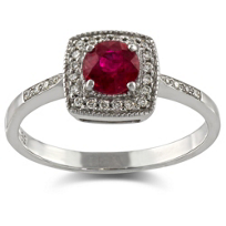 18K_White_Gold_Round_Ruby_and_Round_Pavé_Diamond_Ring