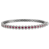 14K_White_Gold_Pink_Sapphire_and_Diamond_Bracelet