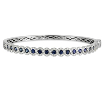 14K_White_Gold_Sapphire_and_Diamond_Bangle_Bracelet