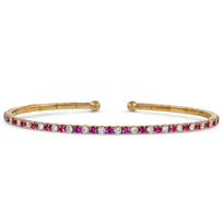 18K_Rose_Gold_Pink_Sapphire_and_Diamond_Cuff_Bracelet