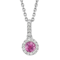 14K_White_Gold_5mm_Round_Pink_Sapphire_and_Round_Diamond_Pendant