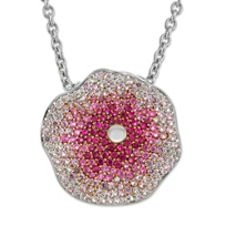 Raymond_Hak_Sterling_Silver_Pink_and_White_Sapphire_Flower_Pendant