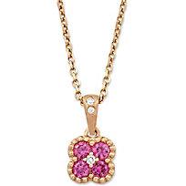 Pink Sapphire Pendant