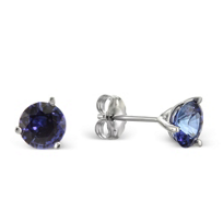 14K_White_Gold_Round_Sapphire_Stud_Earrings,_6mm