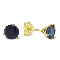 14K_Yellow_Gold_Sapphire_Stud_Earrings,_6mm