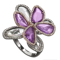 18K_Rose_and_White_Gold_Multicolor_Sapphire_Slice_&_Diamond_Flower_Ring