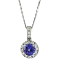 18K_Tanzanite_and_Diamond_Pendant