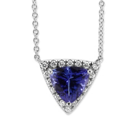 14K_White_Gold_Tanzanite_and_Diamond_Halo_Pendant