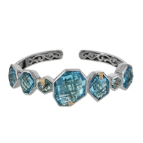 Bellarri_Sterling_Silver_and_18K_Rose_Gold_Blue_Topaz_and_Diamond_Bracelet