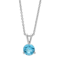 14K_White_Gold_Blue_Topaz_Pendant,_6mm