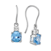 14K_White_Gold_Cushion_Blue_Topaz_and_Round_Diamond_Drop_Earrings