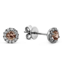14K_White_Gold_Brown_Topaz_and_Round_Diamond_Halo_Earrings