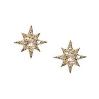 Anzie_14K_Yellow_Gold_Aztec_Starburst_Clear_Topaz_Mini_Stud_Earrings