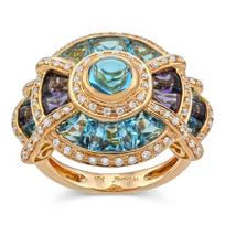 Bellarri_18K_Rose_Gold_Blue_Topaz,_Iolite_and_Diamond_Ring