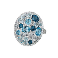 14K_White_Gold_Blue_Topaz,_Crystal_Quartz_and_Diamond_Ring