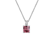 14K_White_Gold_Cushion_Pink_Tourmaline_and_Diamond_Pendant