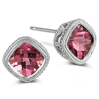 14K_Pink_Tourmaline_Earrings