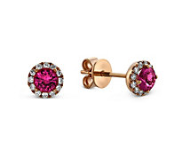 14K Tourmaline Earrings