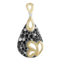 Lagos_Sterling_Silver_and_18K_Yellow_Gold_Black_Spinel_and_Diamond_Pendant