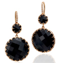 Ivanka_Trump_18K_Rose_Gold_Faceted_Black_Onyx_and_Diamond_Drop_Earrings