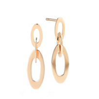 Roberto_Coin_18K_Rose_Gold_Chic_&_Shine_Earrings,_1""