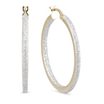 14K_Textured_Hoop_Earrings