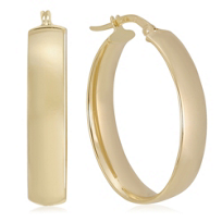 14K_Yellow_Gold_Oval_Hoop_Earrings