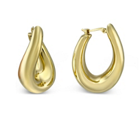 14K_Oval_Twisted_Hoop_Earrings