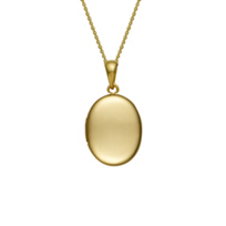 14K_Yellow_Gold_Plain_Oval_Locket_Pendant