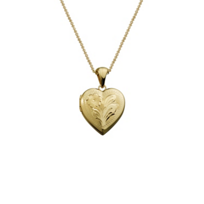 14K_Yellow_Gold_Engraved_Heart_Locket