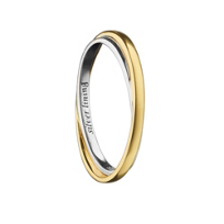 "Monica_Rich_Kosann_18K_Yellow_Gold_&_Sterling_""Silver_Lining""_Poesy_Ring"