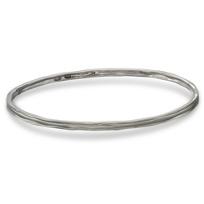 Sterling_Silver_Organza_Matte_Center_Bangle_Bracelet