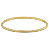 Sterling_Silver_and_Yellow_Tone_Slim_Oval_Sparkle_Bangle