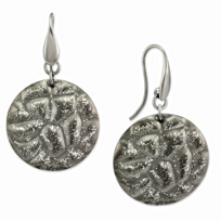 Sterling_Silver_and_Black_Rhodium_Circle_Drop_Earrings
