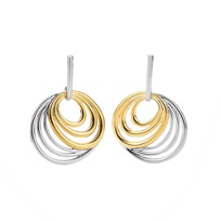 Sterling_Silver_and_Yellow_Tone_Drop_Earrings