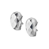 Monica_Rich_Kosann_Sterling_Silver_Faceted_Metal_Huggie_Earrings
