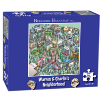 Berk: Berkshire Hathaway Warren & Charlie's Neighborhood Puzzle