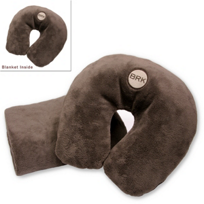 Berk: BRK Travel Pillow and Blanket Set