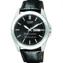 Berk: Mens Berkshire Hathaway Black Strap Watch